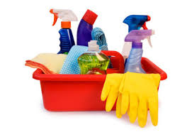 WRCS Cleaning supplies